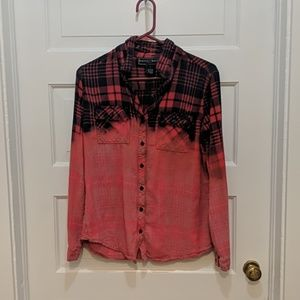 Polly & Esther Bleach Dyed Flannel